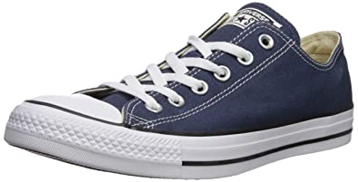 32b720dcafc Converse Unisex Chuck Taylor All Star Low Top Navy Sneakers - 7 D(M)