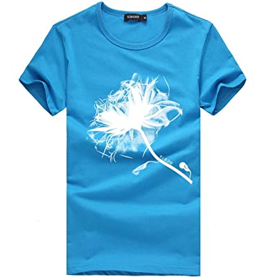 HDGTSA Unisex T-Shirt 3D Printing Tops Round Neck Short Sleeve Shirt Blouse