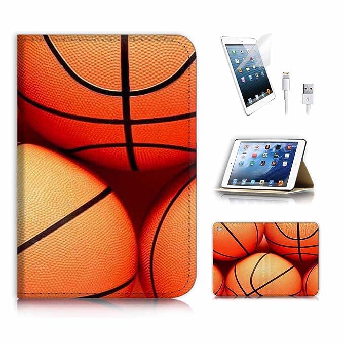 para iPad Mini 4, generación 4) Tipo Libro Funda y Protector de ...