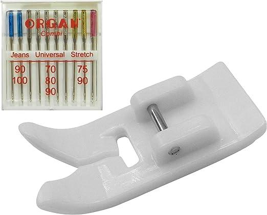 ZigZag coser Organ Aguja Surtido (plano pistón) 130/705 Jeans ...