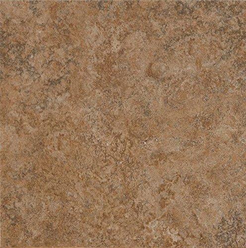 (Armstrong Multistone Alterna Vinyl Tile Flooring, Terracotta)