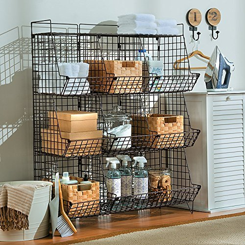 Review Sonoma Rustic Wire 9-Cubby Storage Unit - Improvements By Improvements by Improvements
