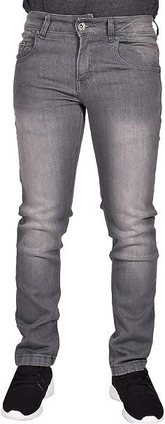 Pantalones vaqueros True Face ajustados y elásticos de algodón para hombre