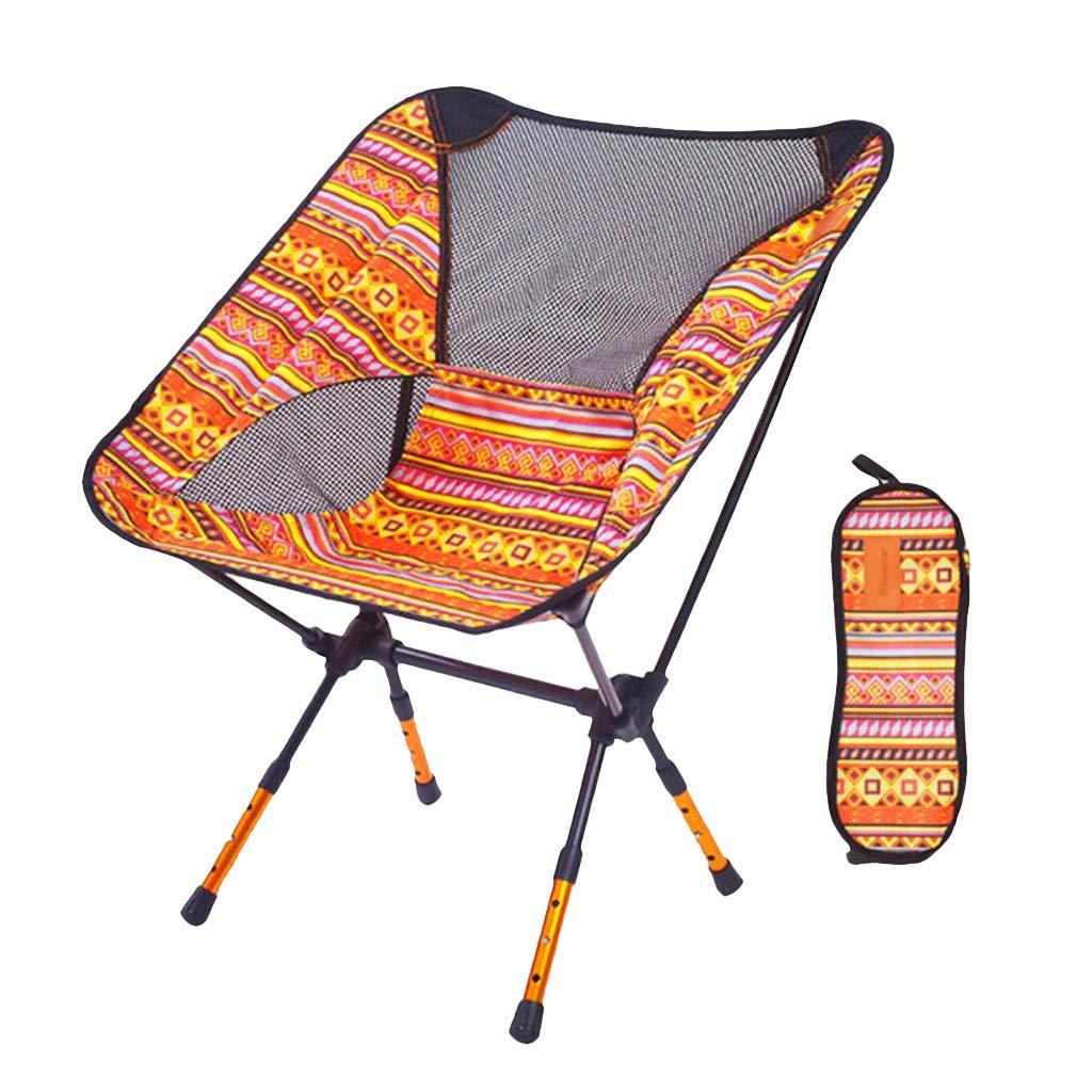 P Prettyia Faltbar Gartenstuhl klappbar Balkonstuhl mit Tragetasche für Angeln/Strand / Camping