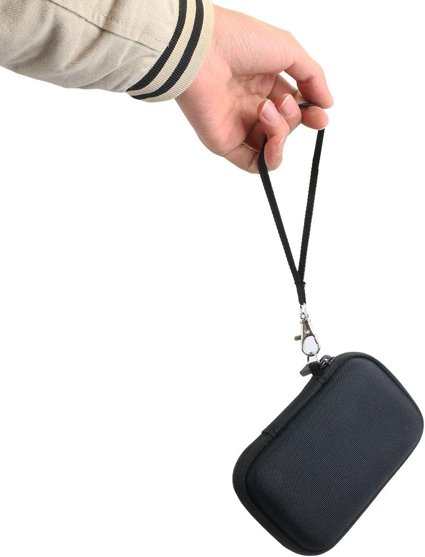 co2CREA Hart Reise Schutz H/ülle Etui Tasche f/ür Samsung T7 Touch Portable SSD 1TB//2TB//500GB F/ür 2 SSD, Schwarz
