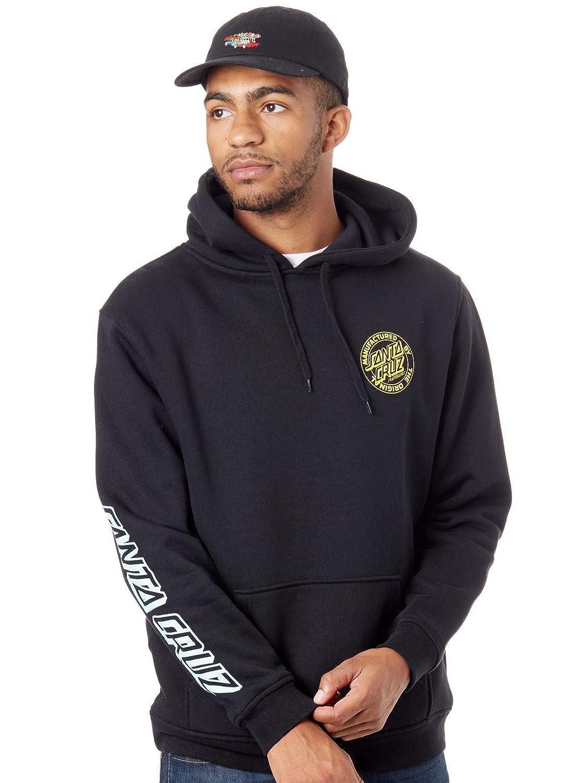 Santa Cruz Black Mfg Dot Fade Hoody (XXL, Black) at Amazon Mens Clothing store: