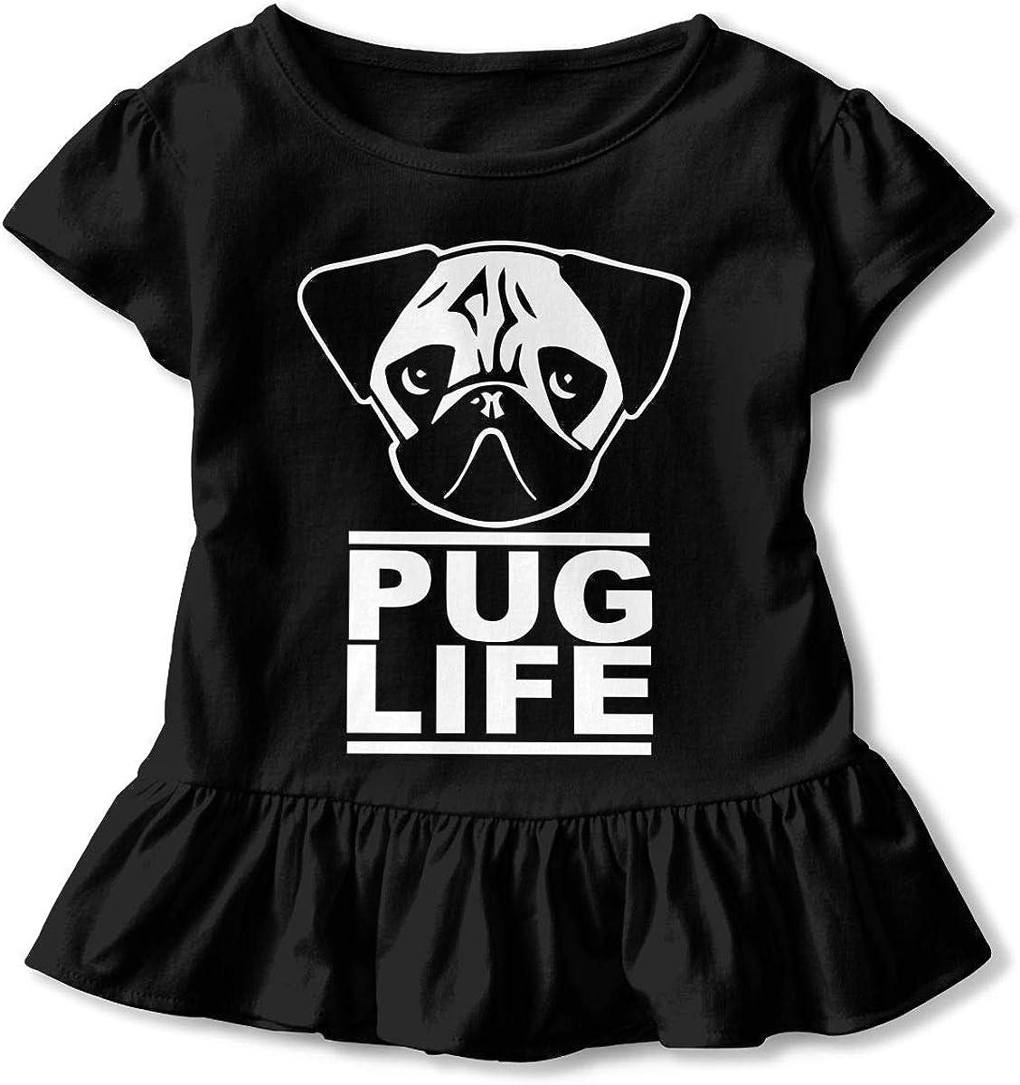 Pug Life Child Short-Sleeved Tee Tops