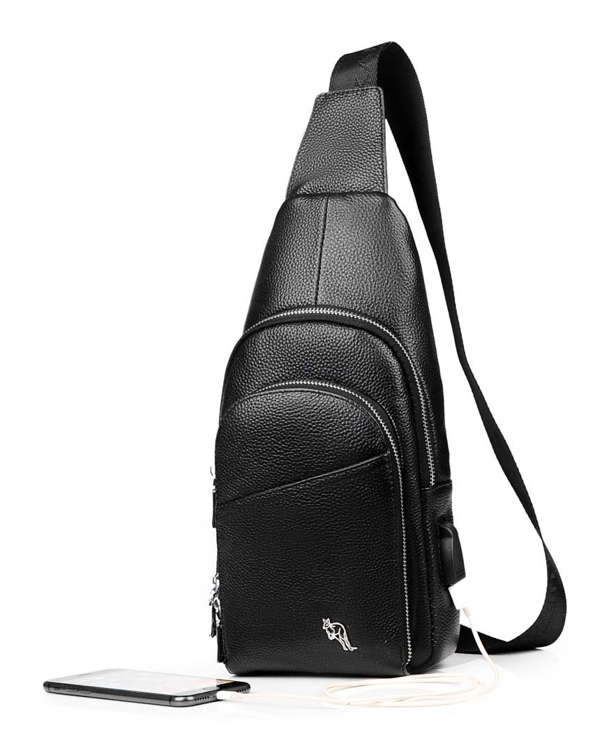 Amazon.com  GJX Men s Chest Bag ce98c1b064bf0