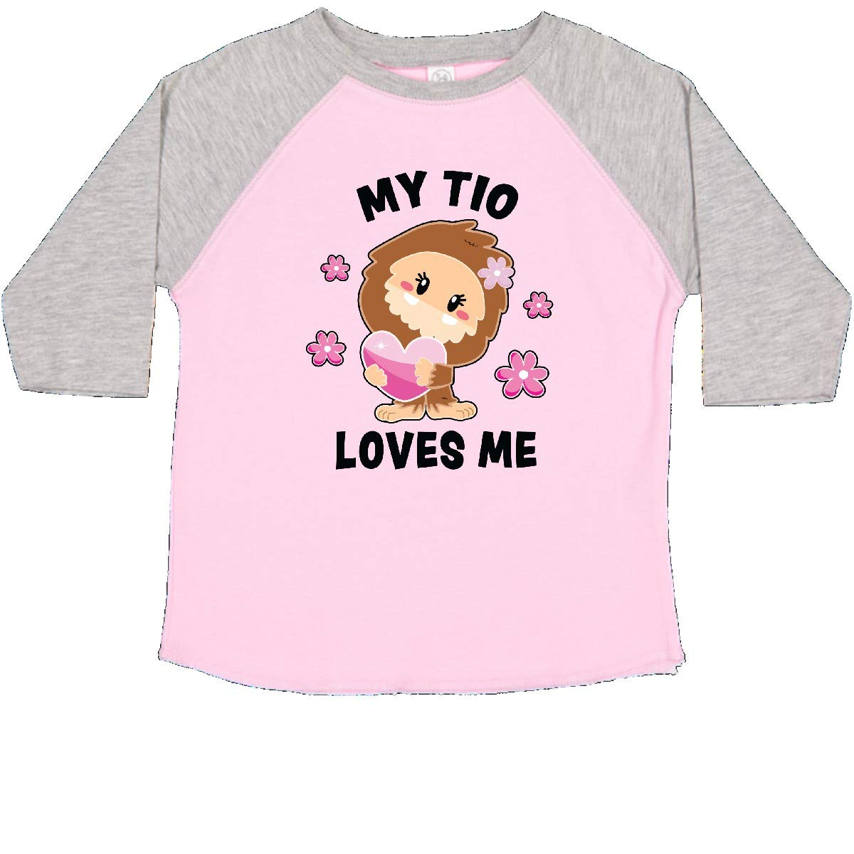 inktastic My TIO Loves Me with Bigfoot Toddler T-Shirt