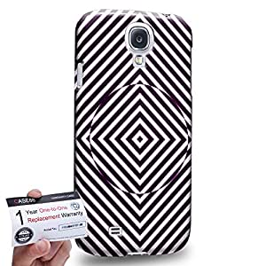 Case88 [Samsung Galaxy S4] 3D impresa Carcasa/Funda dura para & Tarjeta de garantía - Art Fashion Visual Art Effect 34