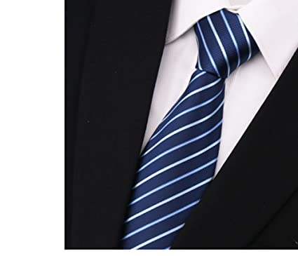 Raya o sólido color corbata tie hombres boda formal fiesta traje ...