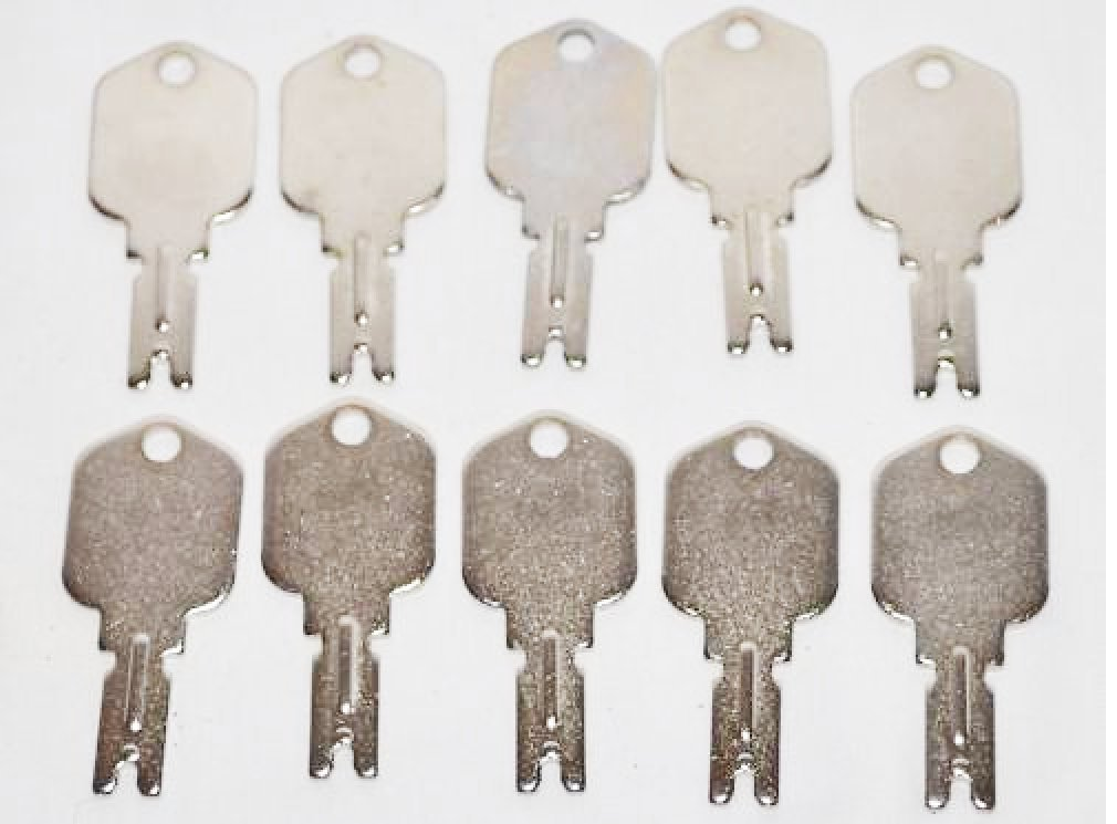 10 Ilco Part #1430 Equipment Key fits Clark Yale Daewoo Hyster Gradall JLG Forklift Key …