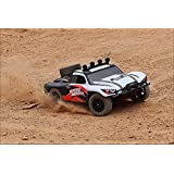 Novcolxya Model Cars RC Electric Racing Car 1/18 Scale Off-Road 2.4-Ghz Radio Remote control 4WD High Speed 30MPH, White