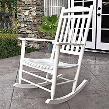 Admirable Amazon Com Premium Quality Patio Outdoor Rocking Chair Creativecarmelina Interior Chair Design Creativecarmelinacom