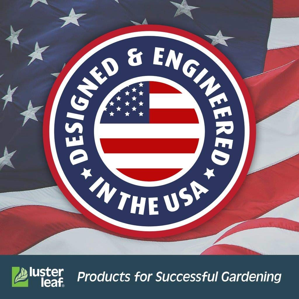 Luster Leaf 1640/Rapitest Plante Jardin Yard pluie Jauge w//Support d/écoratif