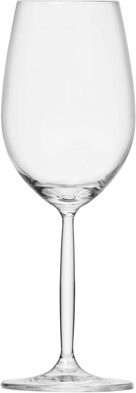 Amazon Com Schott Zwiesel Tritan Crystal Glass Diva Living Stemware Collection 10 2 Ounce Riesling White Wine Glass Set Of 6 Wine Glasses