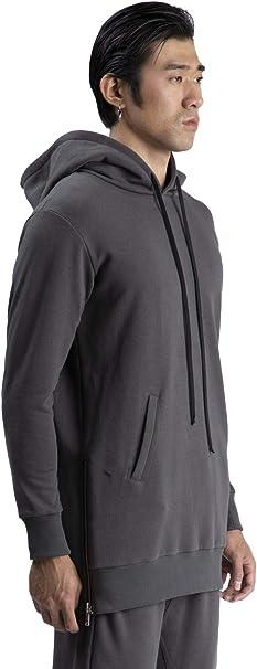 cloth of Democracy  A.M. Couture - Felpa Zip Laterali Uomo: Amazon.it: Abbigliamento
