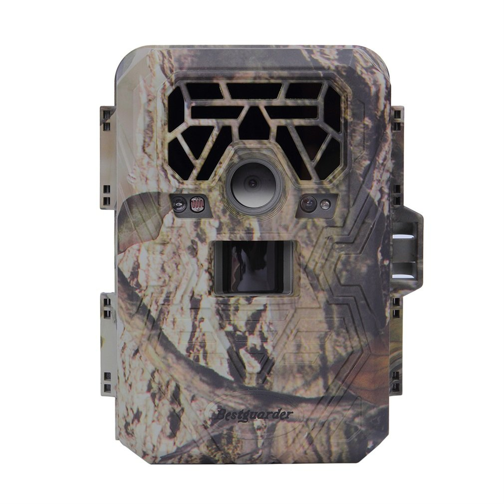 Trail Camera, Bestguarder Game Life Sercurty Wildlife Digital Camera with HD 12 MP 1080P 36PCS IR LEDs Waterproof IP66 detection Range 75ft 2.0'' LCD Screen