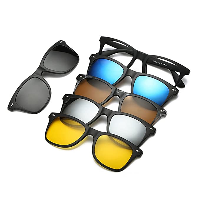 Amazon.com: ladbod nuevo 5-Pack anteojos de sol polarizadas ...
