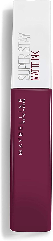 Maybelline MAY SSTAY MATTE INK BLfr/it/nl 40 BELIE barra de labios Burdeos - Barras de labios (Burdeos, believer, 21 mm, 56 mm, 125 mm, 31 g)