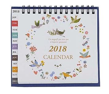 Cute Calendar 2018 Creative And Practical Home Calendar Student