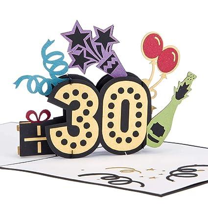 Cardology - Tarjeta de felicitación para 30 cumpleaños con ...