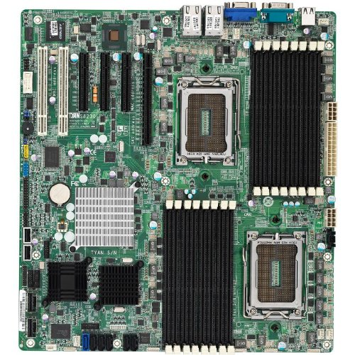 Tyan S8230WGM4NR-LE Dual Opteron 6100/ AMD SR5670/ DDR3/ SAS/V&4GbE/ EATX Server Motherboard ()