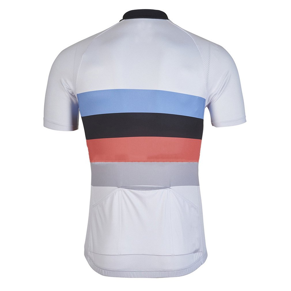 Nawing Men's Cycling Jersey Short Sleeve Road MTB Jacket Clothing Bike Bicycle Top