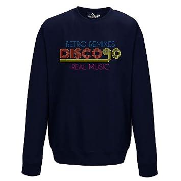 KiarenzaFD Sudadera Cuello Redondo Música Disco Music años 90 Dance Retro Remix: Amazon.es: Deportes y aire libre