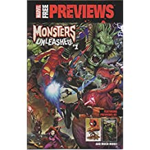 Marvel Free Previews: Monsters Unleashed!, no. 1 (March 2017) (promo one-shot comic) (Kid Kaiju, Avengers, Inhumans, Thor, Iron Man, Captain America, Deadpool, Groot, Rocket Raccoon, Fin Fang Foom)
