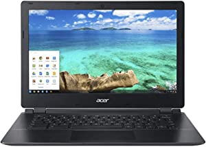 Acer Chromebook C810 13.3-Inch Screen 16 GB Compact Foldable Laptop Computer, Black (Renewed)