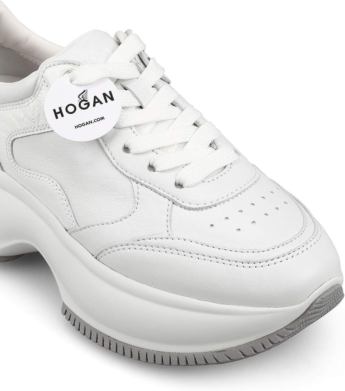 Hogan Sneaker Maxi I Active Bianche in Pelle Scarpe e borse Scarpe ...