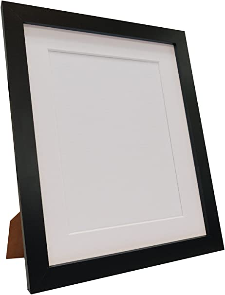 """Black 10 x 8/"""" Picture Mounts Great prices /& value Backing Boards /& Clear bags"""