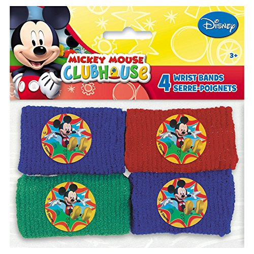 Mickey Mouse Clubhouse Wrist Bands, 4ct