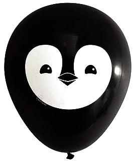 Nerdy Words Penguin Latex Balloons (16 pcs)