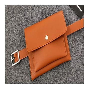 03cfed07bfbf HAOLIEQUAN Classic Trendy Waist Bags Fashion Women Belt Pack Vintage ...