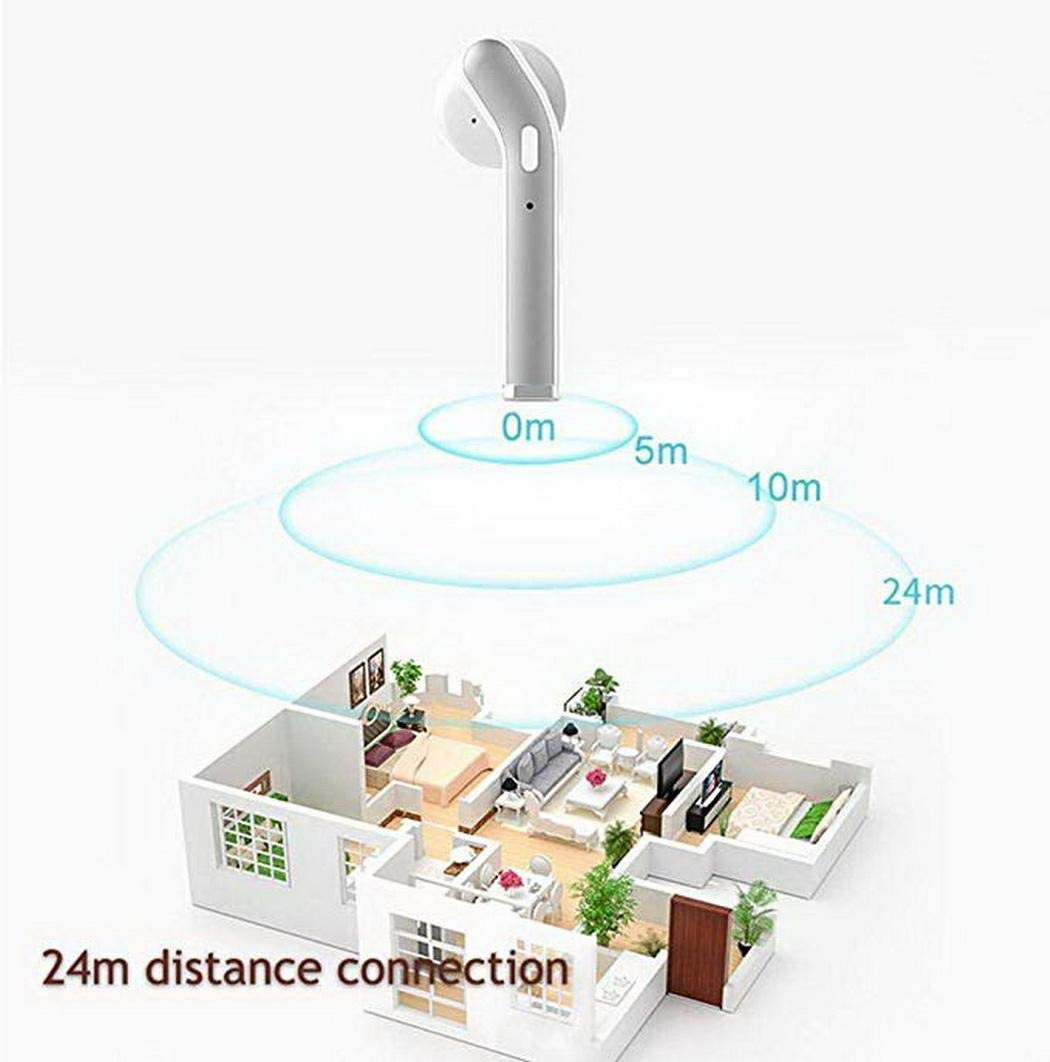LIOPIO Auriculares inalámbricos Mini Auriculares Bluetooth Auriculares Deportivos con Estuche de Carga Auriculares