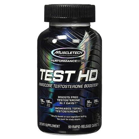 Muscletech Test HD Testosterone Booster - 90 Caplets
