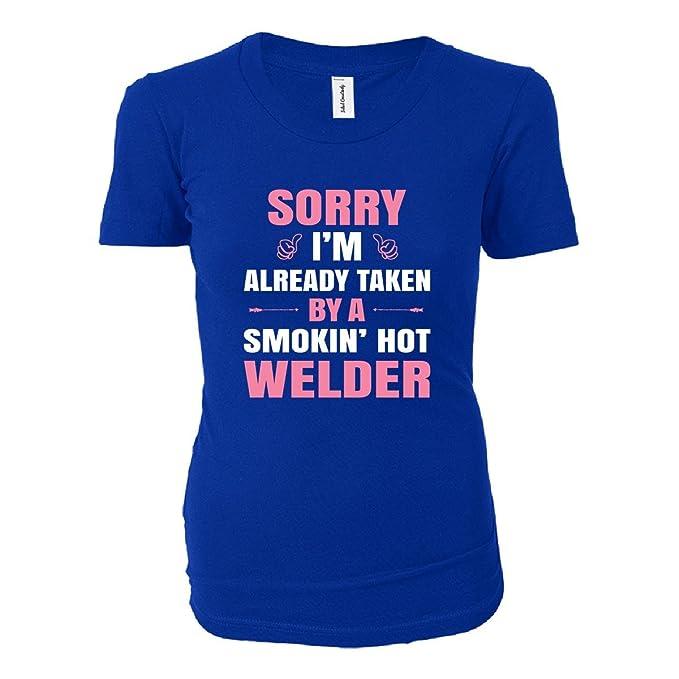 I m adoptado por un Smokin Hot soldador – Camiseta ...