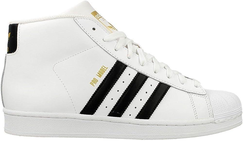 adidas Men's Pro Model Fitness Shoes Ftwr White Core Black Ftwr White