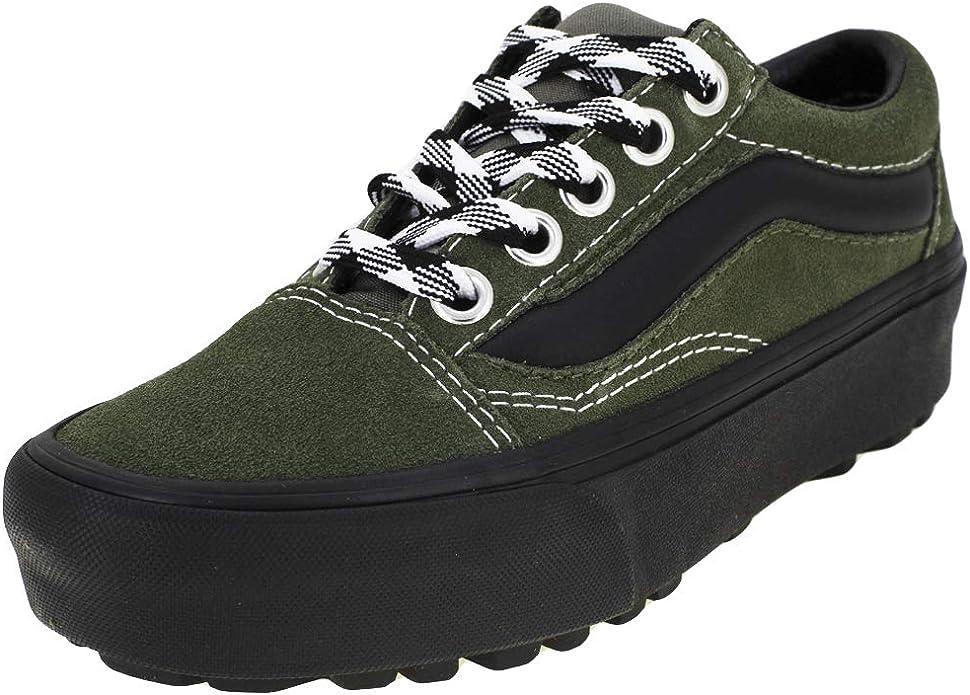 Vans Ua Old Skool Lug Platform Shoes 38 EU (90s Retro) Grape