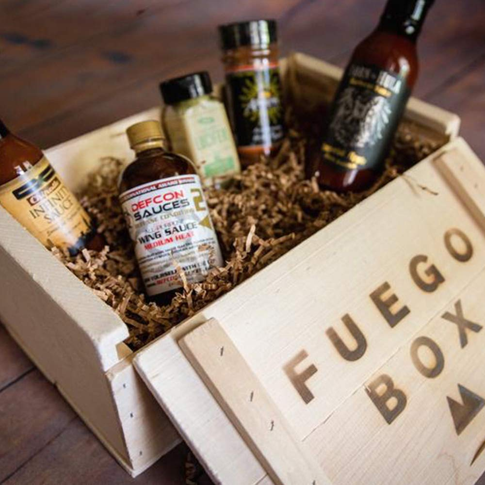 Blazing BBQ Box - Spicy Barbecue Gift Set by Fuego Box (Image #2)