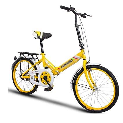 Elípticas Bicicleta Bicicleta Unisex Bicicleta Plegable Ruedas De 20 ...