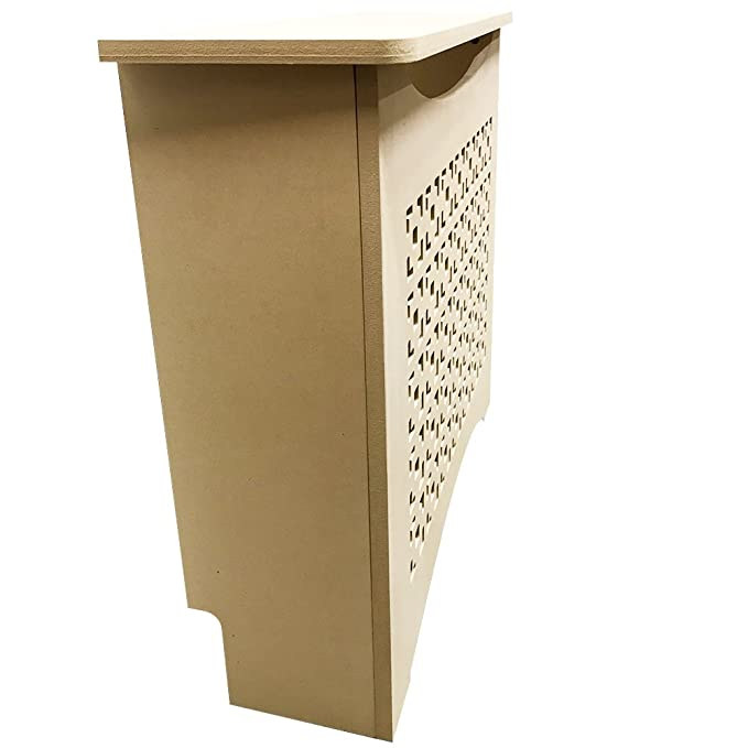 Unfinished MDF Radiator Heater Cover, 24