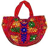 Handmade in India Shree Exports Indian Cotton Monk Bag Bohemian Cross Body Unisex Reversible Hippi Shouler Bag B 127