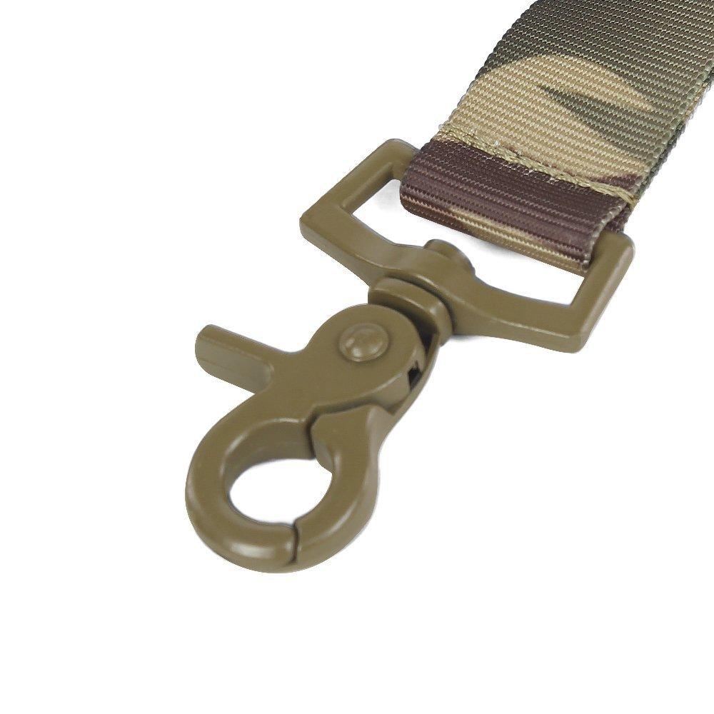 Extensible de Correa para chasser Sistema de Equipo de Entrenamiento de Perro de Paintball de Airsoft Collar de Crabot Ajustable T/áctico y Conjunto