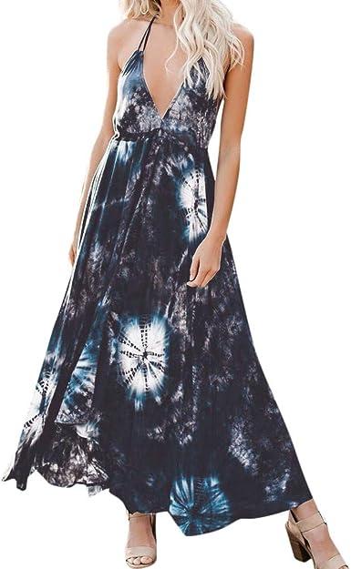 Women Summer Dress,nikunLONG Womens Floral Maxi Dress Bohemian Slit Off Shoulder Wrap Long Dresses