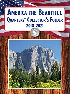 Amazoncom Littleton State Quarter Display Map Folder Toys - First state quarters of the us collectors map