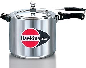 Hawkins CL-10 Classic Aluminum Pressure Cooker, 10 Litre, Silver