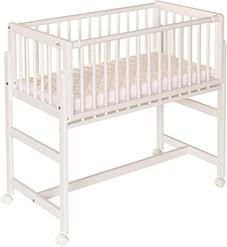 Geuther Letto A Molle Betsy-Cama con somier, Color Blanco
